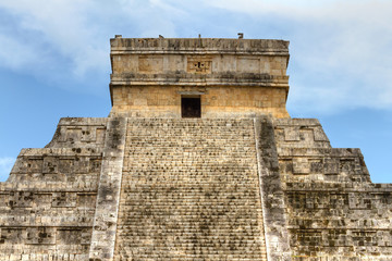 Kukulkan pyramid in Chichen Itza, Mexico