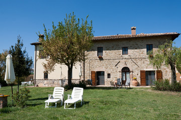 Typical stone country house - Perugia Umbria