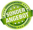 "Button Banner ""Sonderangebot"" grün"