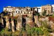 amazing city on rocks , Spain - Cuenca