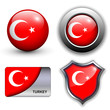 Turkey icons