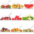 obraz - frutta collage
