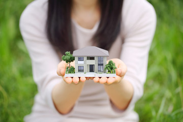 住宅模型(不動産・建設・賃貸)