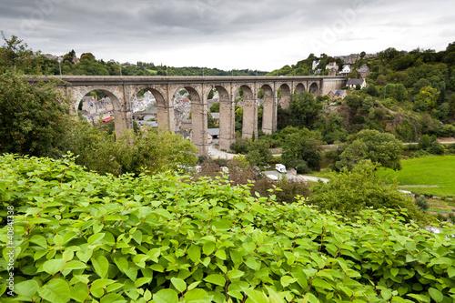 the old bridge at Dinan