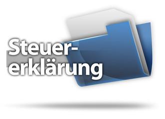 "3D-Style Mappe ""Steuererklärung"""