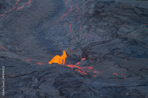 volcano eruption - Hawaii