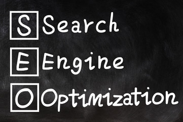 Search engine optimization - SEO concept