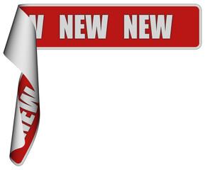 Band-Sticker rot roli NEW