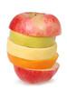 Cheerful mixed fruits