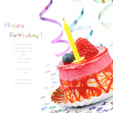 Fototapety Colorful birthday cake