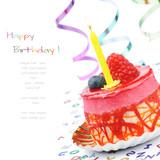Fototapety Colorful birthday cake
