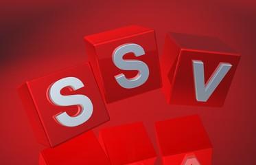 3D Fallende Wuerfel - SSV XII