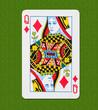 Play Card Diamond