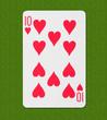 Play Card Heart