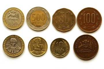 Pesos chilenos 智利的比索