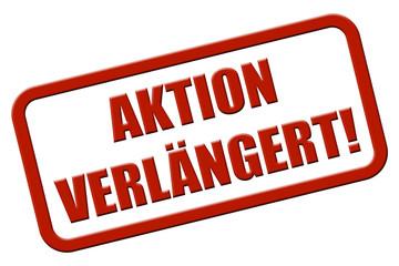 Stempel rot rel AKTION VERLÄNGERT