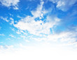 Quadro Blue sky background