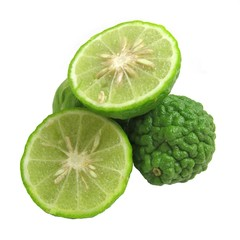 Kaffir Limes Isolated 2