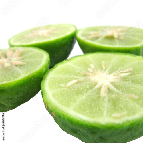 Kaffir Limes Isolated 4