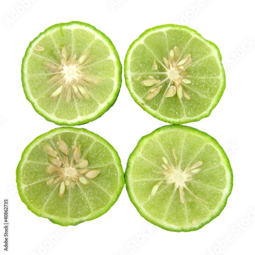 Kaffir Limes Isolated 3