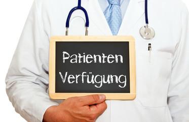 Patienten Verfügung