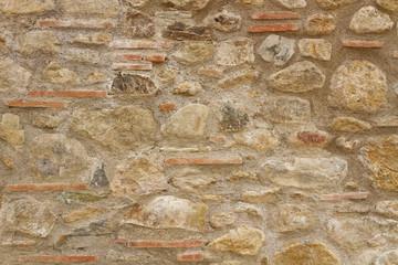 Muro antico in pietra texture