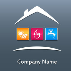 Haustechnik - Firmenzeichen