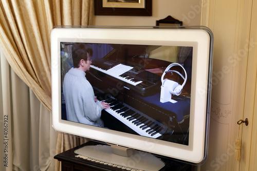 lezioni di musica in teleconferenza