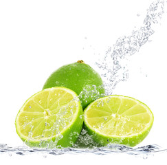 lime splash