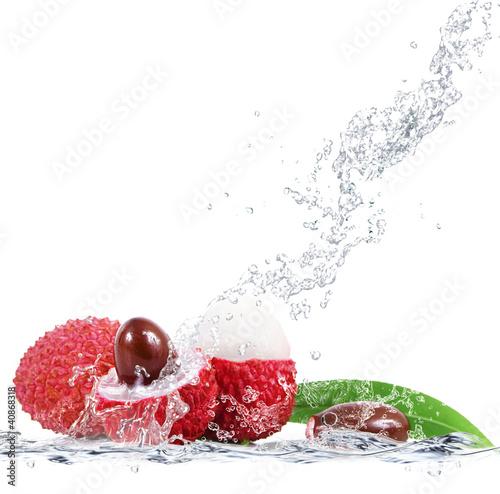 Foto op Canvas Opspattend water lycis splash
