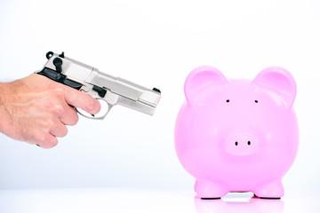rob the piggy