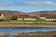 Irish cottage houses in Burren, Co. Clare
