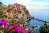 Fototapeta Liguria - wybrzeże - Wieś