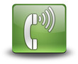 "Green 3D Effect Icon ""Telephone"""