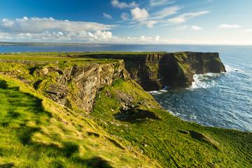 Klify Moher w Co. Clare, Irlandia