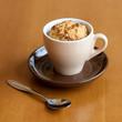 Gluten free muffin in cup