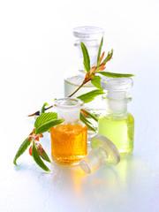 Erfrischende Naturkosmetik - Essenzen und Öle