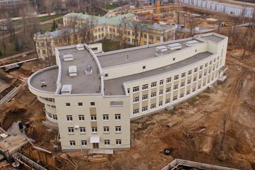 Новый корпус 2-ой инфекционной больницы в Москве