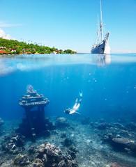 Underwater landmark