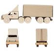 truck made of corrugated cardboard