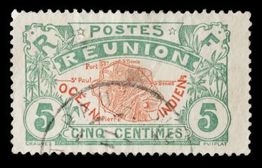 Reunion Stamp
