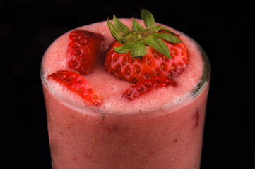 Strawberies juice