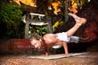 Yoga eka pada koundinyasana