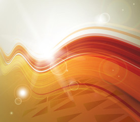 background decorated by abstract swift lines