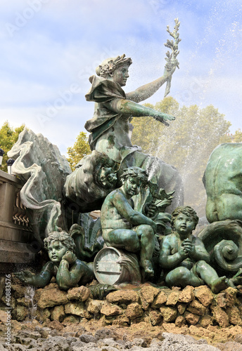 Monument des Girondins fountain, Bordeaux
