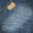 denim jeans label background