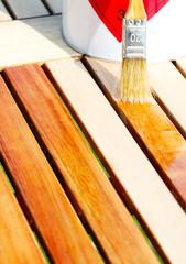Holzmöbel einölen