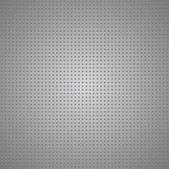 Structured gray metallic perforated sheet