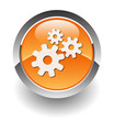 gear orange button