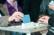 women 's hand vote - 40887547